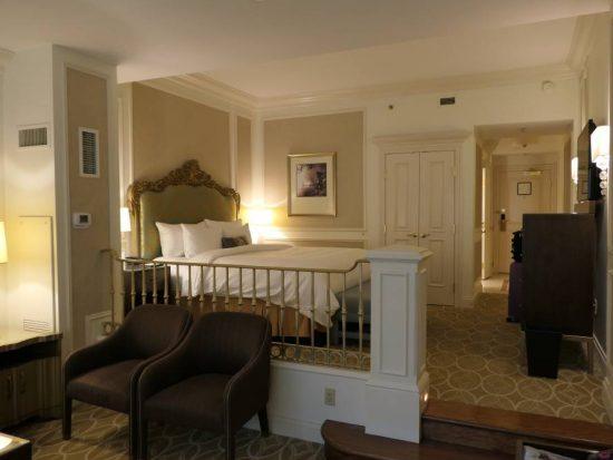 Veel ruimte in mijn suite Venetian Hotel
