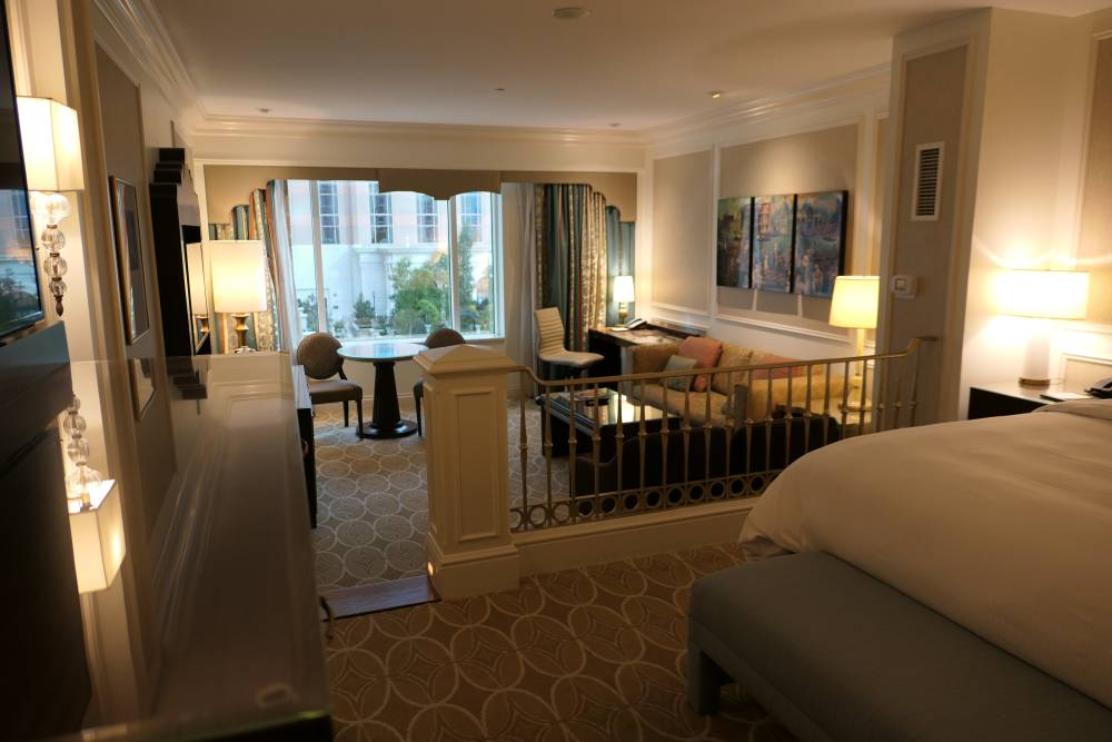 Zo zie mijn suite in het Venetian Hotel eruit :-)