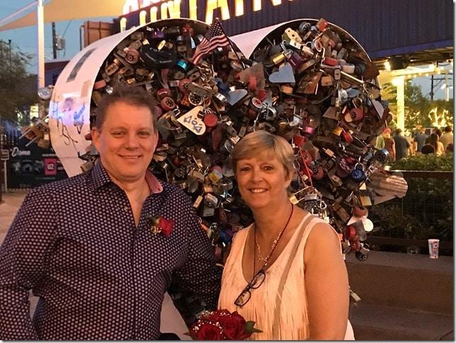 Ons huwelijk in Las Vegas 2017