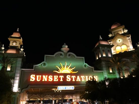 Neon Sunset Station Hotel