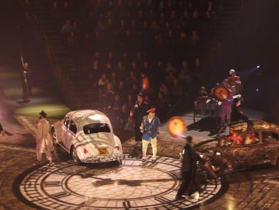 Cirque du Soleil Show Love in The Mirage