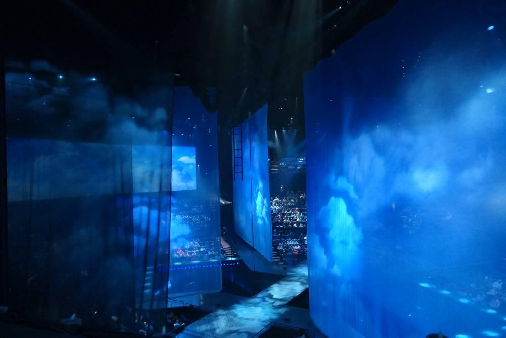 Uitzicht LasVegasNic, Cirque du Soleil show Love