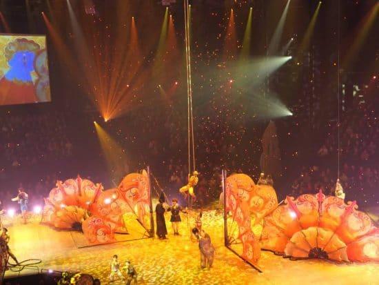 Finale Cirque du Soleil Show Love in The Mirage