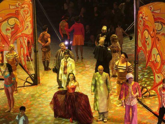 Einde van Cirque du Soleil Show Love in The Mirage