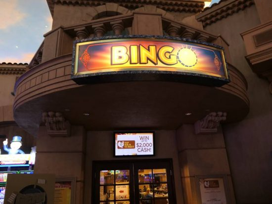 Bingo in Sunset Station Casino in Henderson