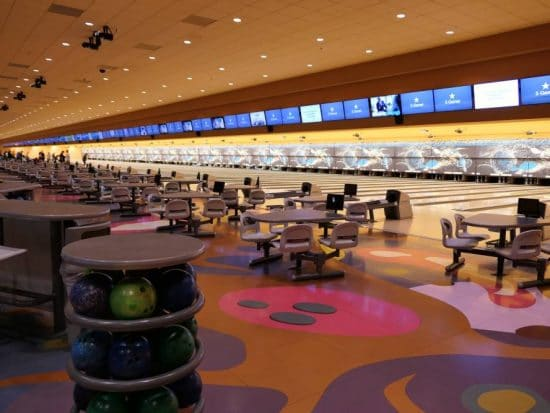 Bowlingcenter met 72 banen in Sunset Station Hotel
