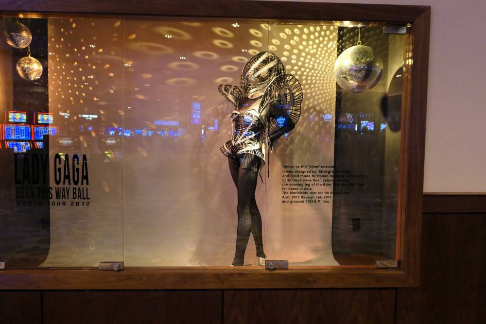Lady Gaga outfit Hard Rock Hotel en Casino