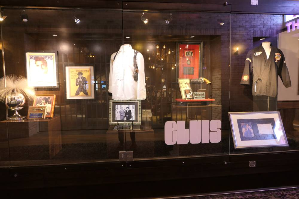 Elvis memorabilia, Hard Rock Hotel Las Vegas