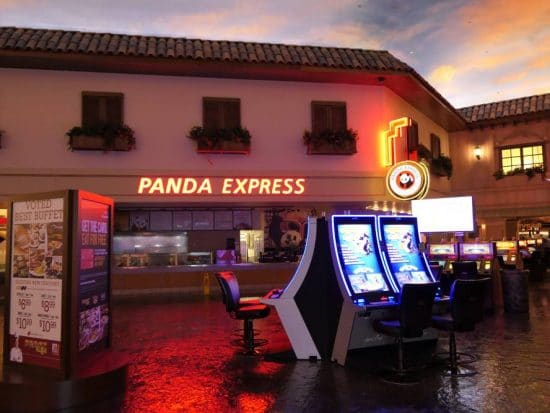 Panda Express in Sunset Station Hotel