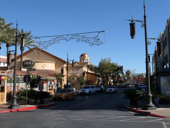 Winkelstraten winkelcentrum Town Square Las Vegas