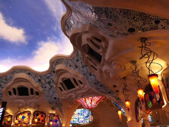 Gaudi invloeden Sunset Station