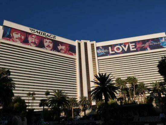 Het Mirage Hotel en Casino in Las Vegas
