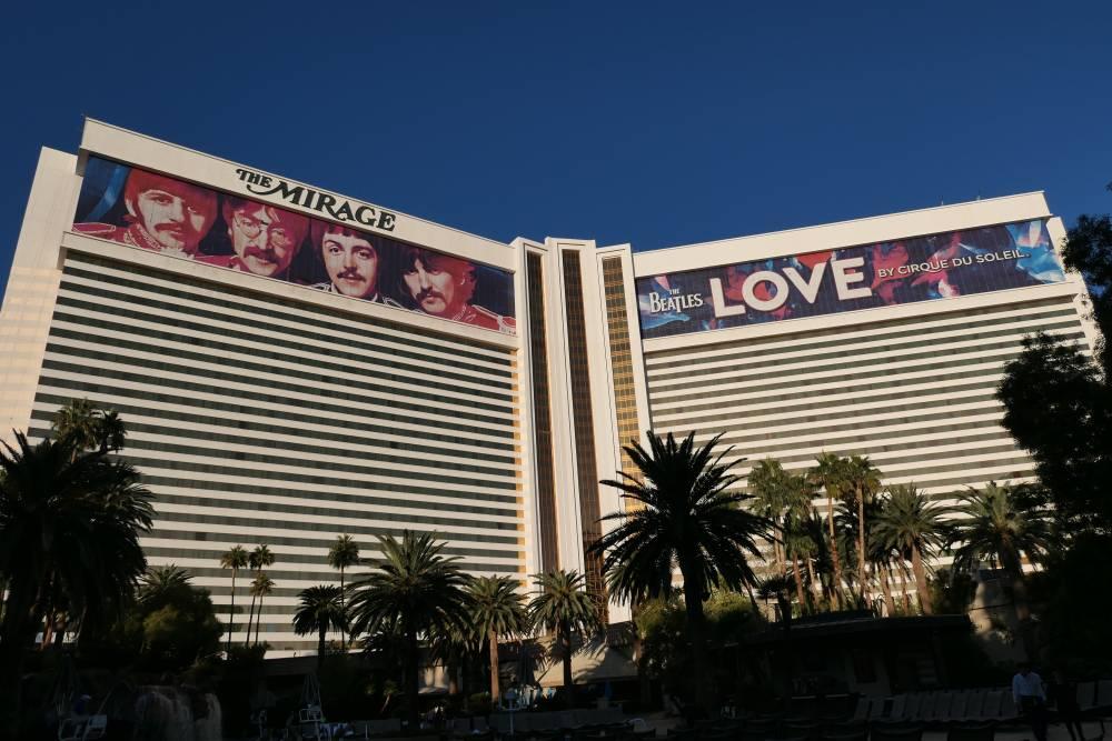 4 nachten The Mirage Hotel en Casino