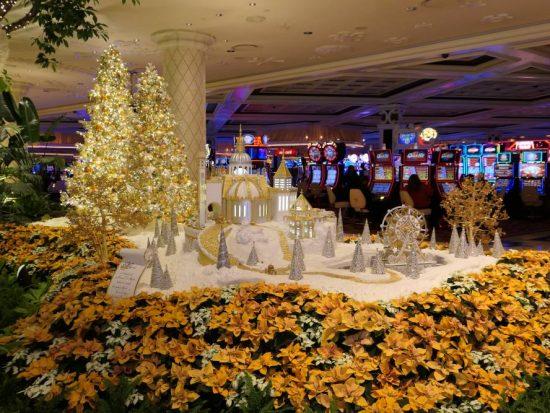 Kerstsfeer Wynn Casino