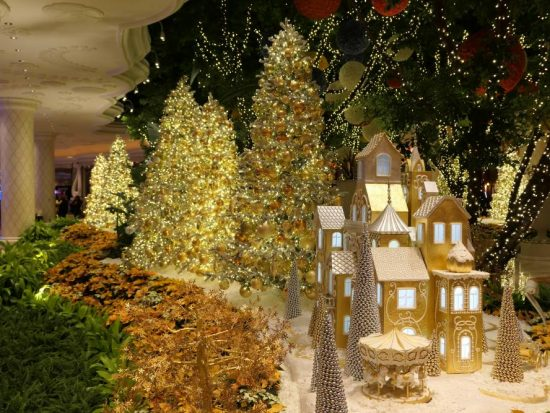 Kerst in het Wynn Casino
