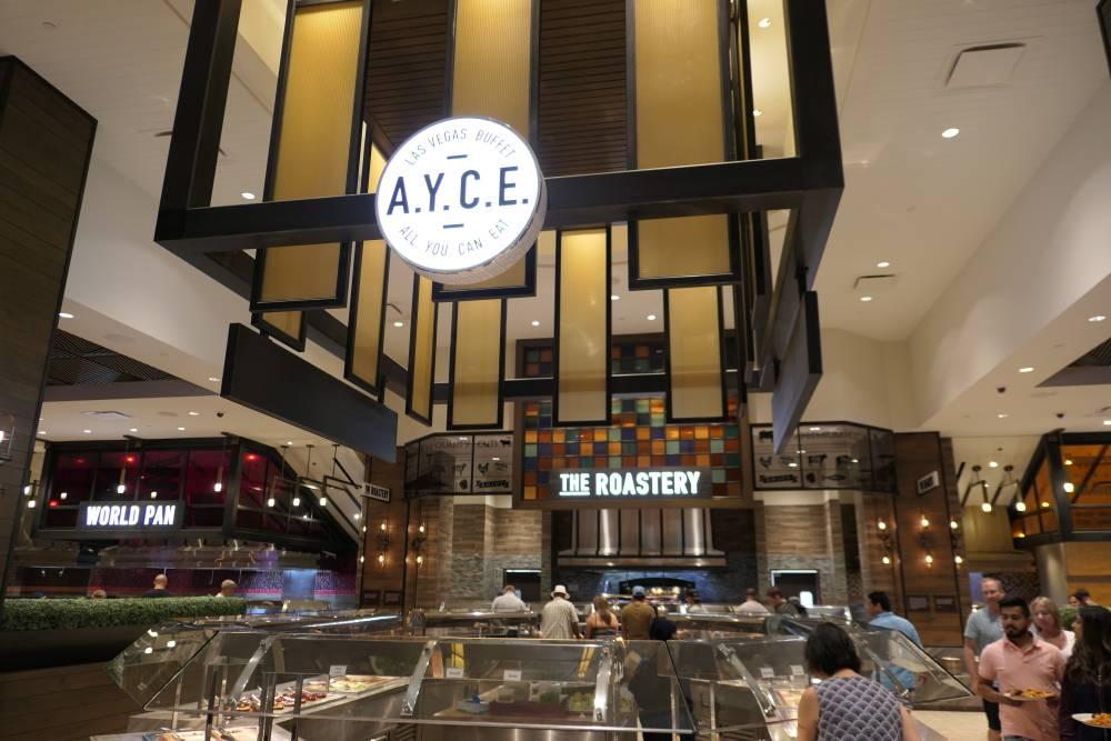 AYCE Buffet Palms Hotel