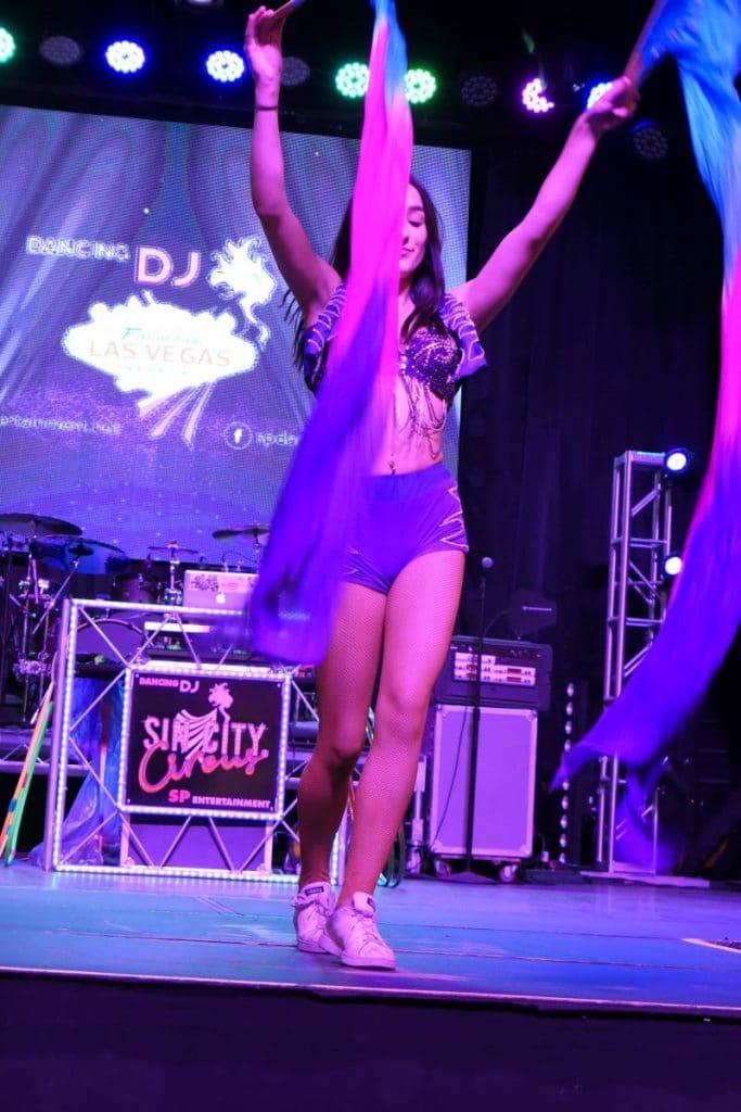 Dancing DJ Downtwon Las Vegas