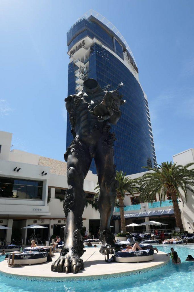 Kunstwerk Demon With Bowl Palms Hotel Vegas