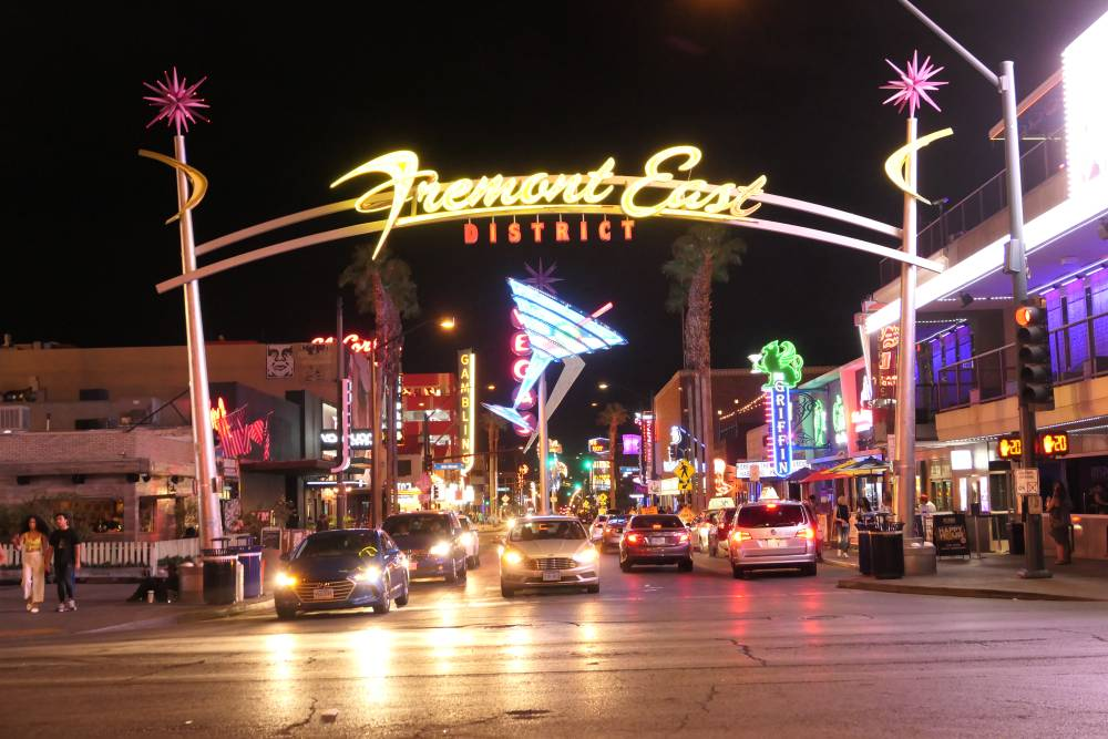 Fremont East District Downtown Las Vegas