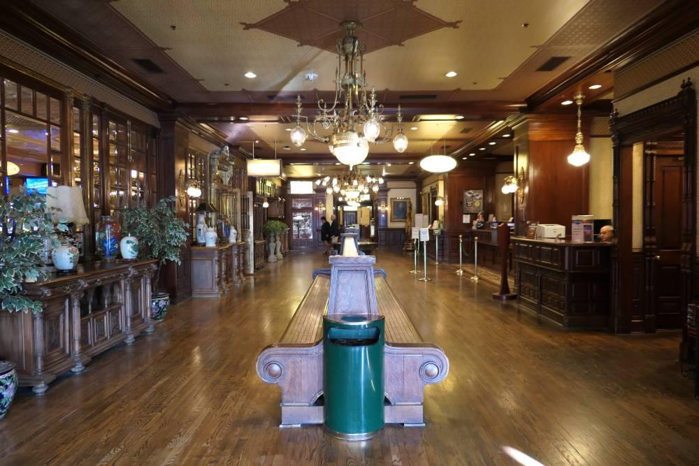 Hello Main Street Station Hotel in Downtown Las Vegas