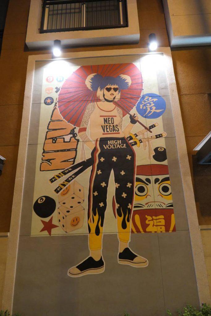 Mural Neo Vegas