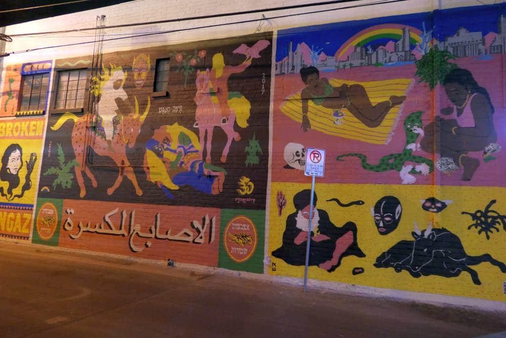 Mural Arabic theme