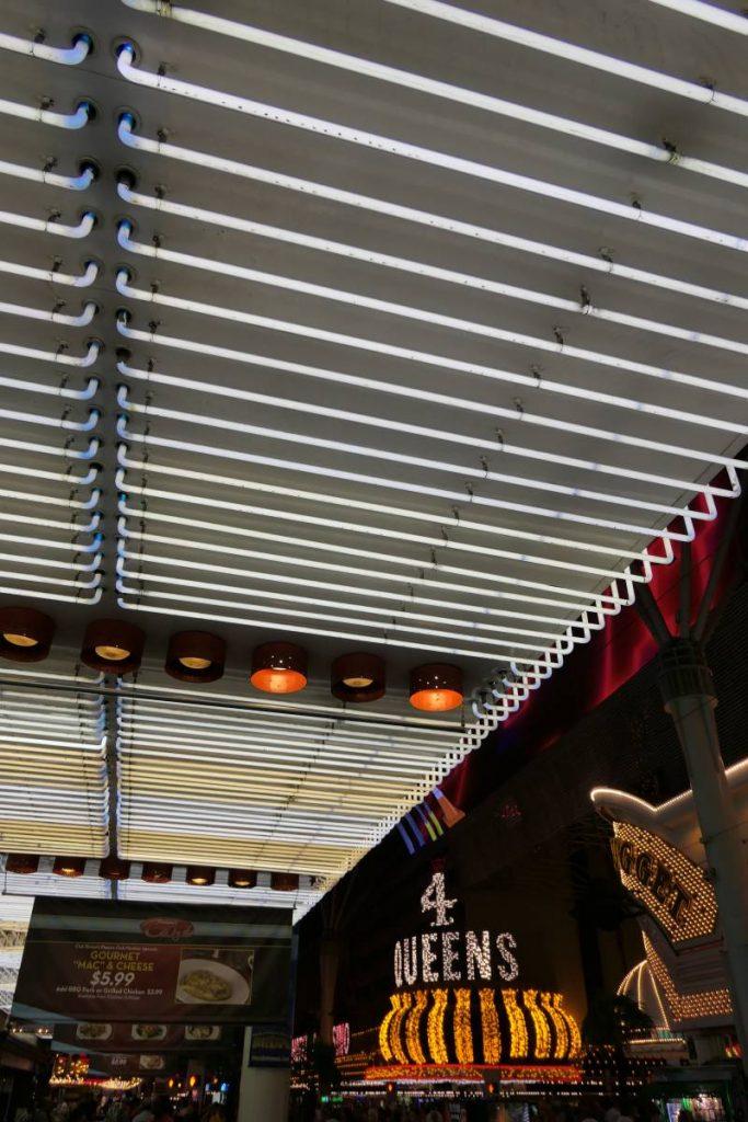 Neon Binions Casino Downtown Las Vegas