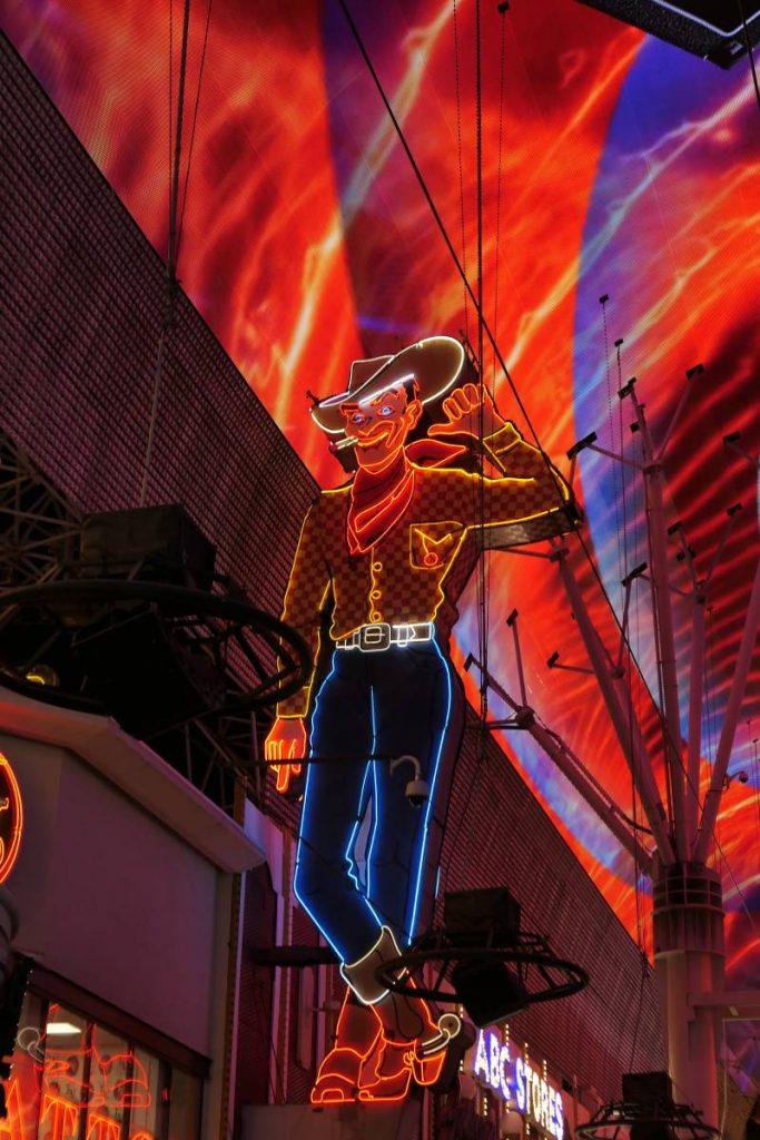 Vegas Vic, Neon Cowboy Downtown Las Vegas