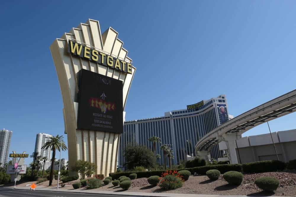 Goodbye NoMad, hello Westgate Hotel in Las Vegas