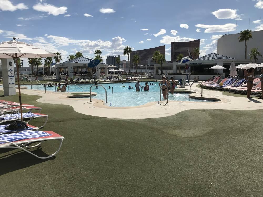 Zwembad Westgate Hotel in Las Vegas