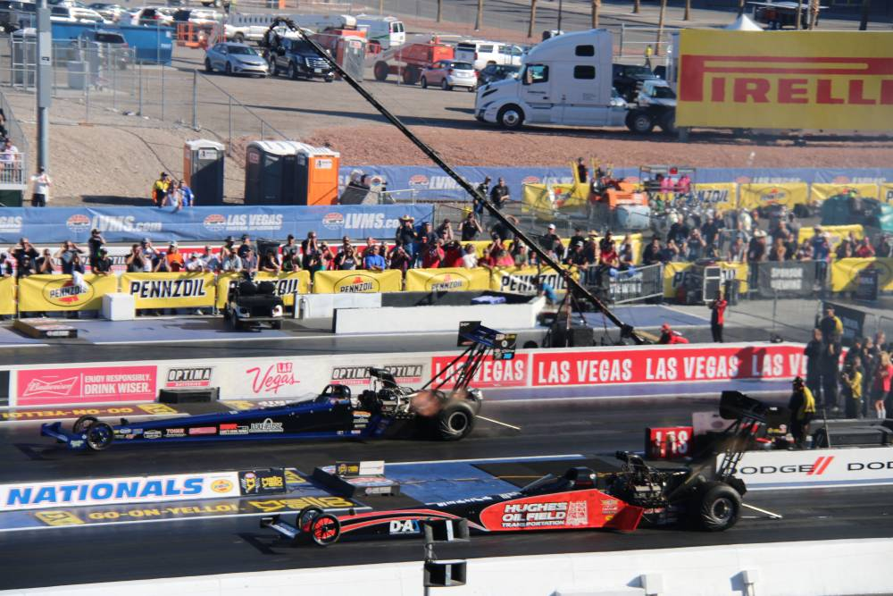Top Fuel dragster, Dragracing in Las Vegas