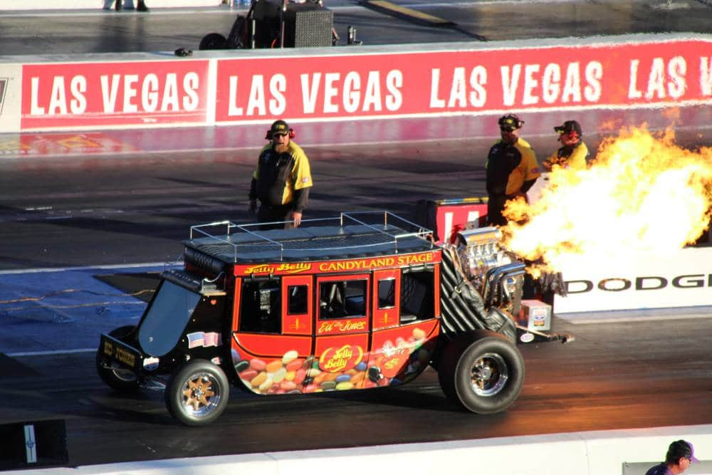 Dragraces in Las Vegas, de andere Strip
