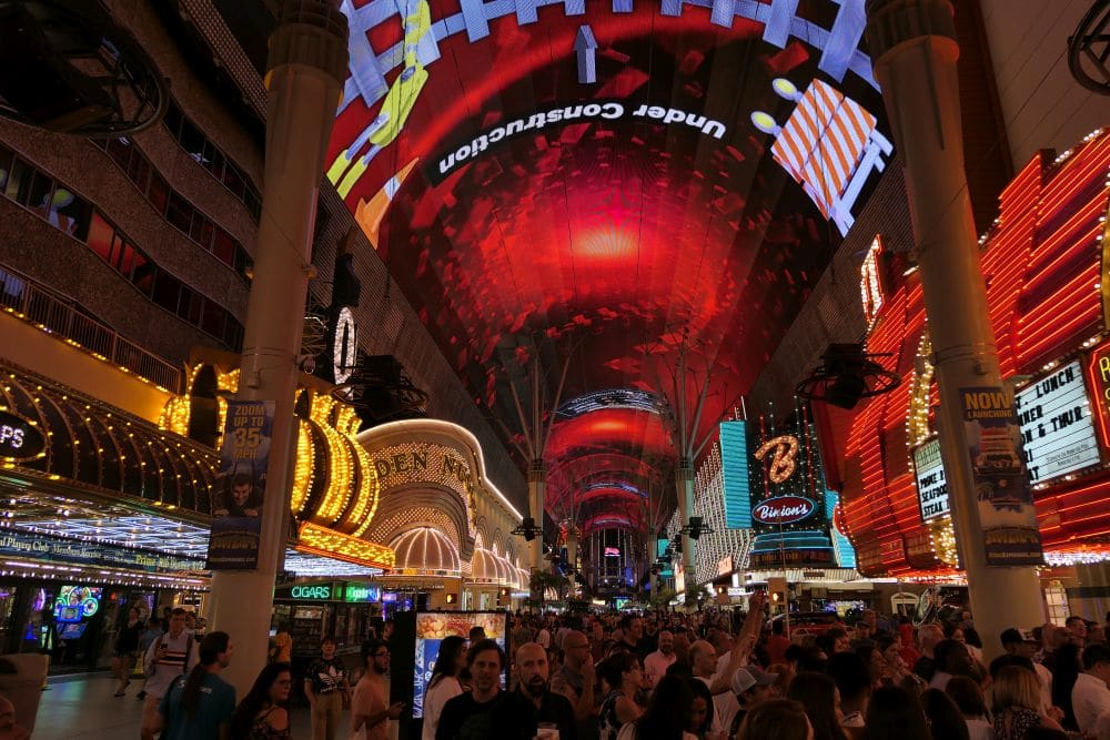 Casino's in Downtown Las Vegas