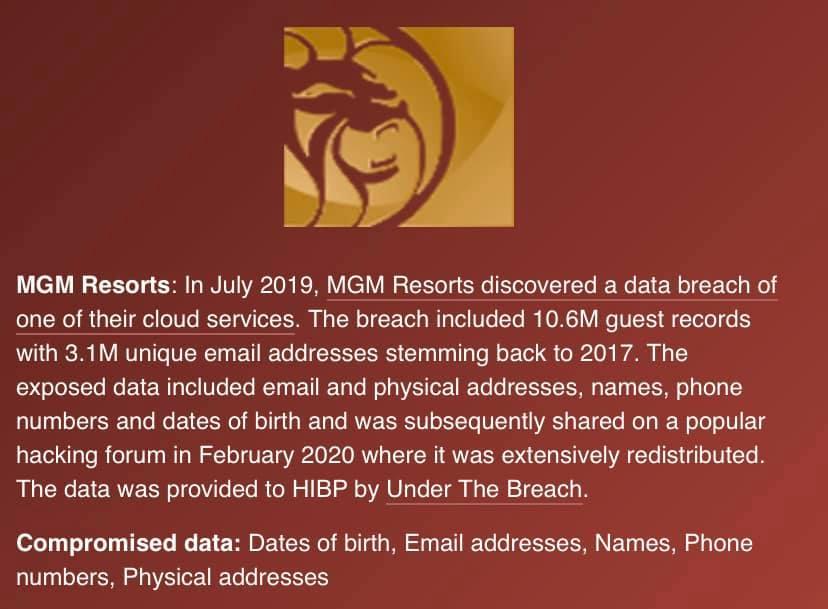 Hotelketen MGM Resorts is gehackt, zijn jouw gegevens ook buitgemaakt?