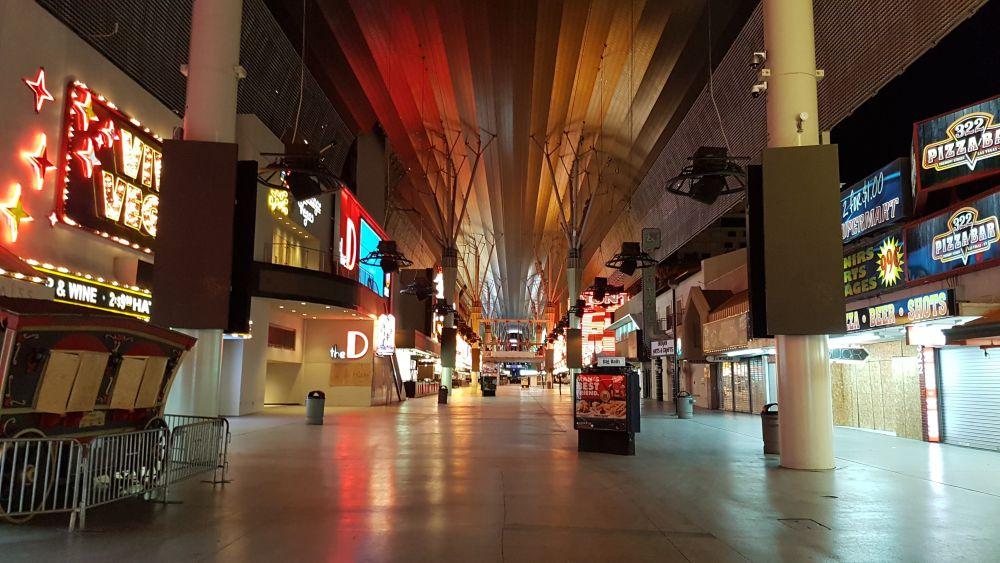 Monoliet in downtown Las Vegas