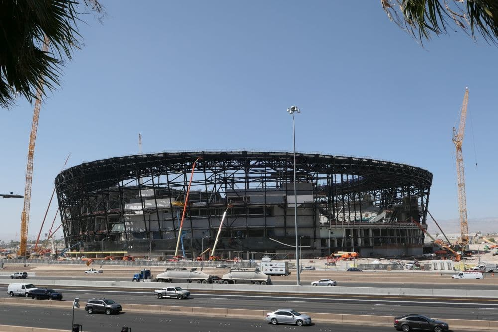 Allegiant stadion Football Club Las Vegas Raiders