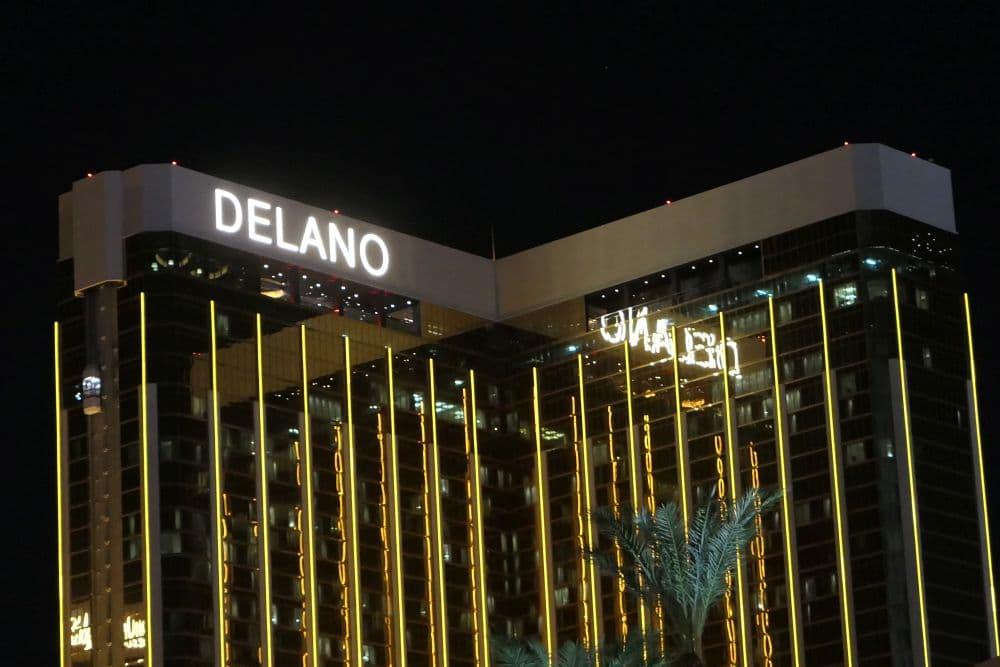 Mijn laatste Las Vegas hotel, het Delano. Hier sliep ik in 2019