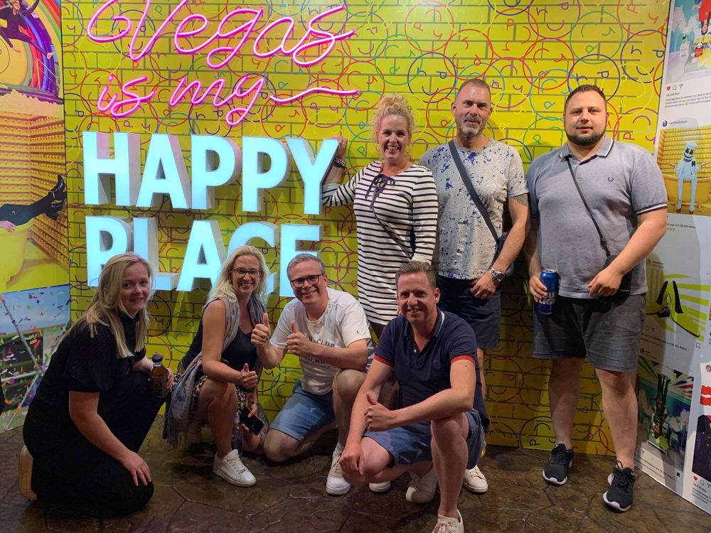 Las Vegas vrienden ontmoeten en Meet & Greet
