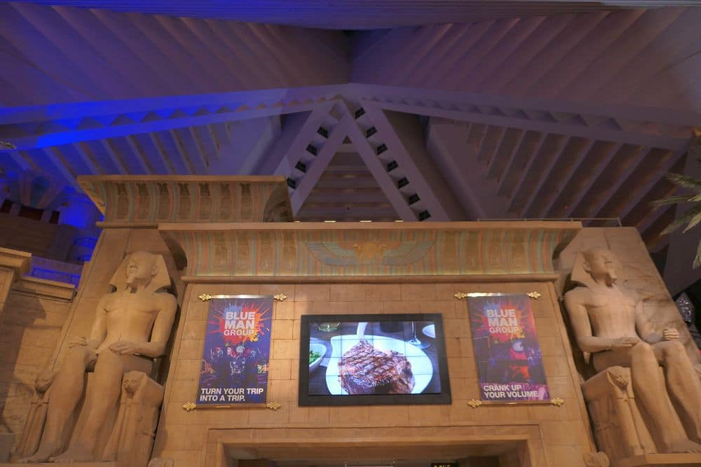Attrium Luxor Hotel in Las Vega