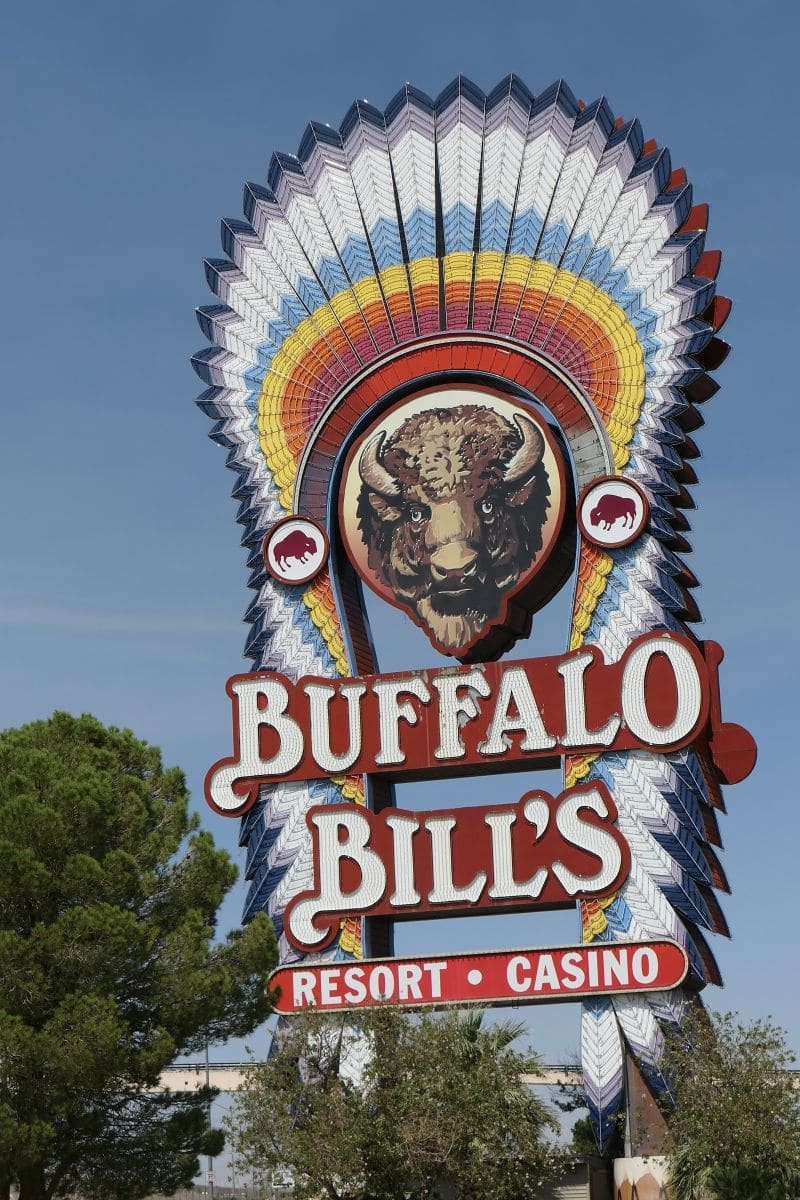 Sign Buffalo Bill's Casino