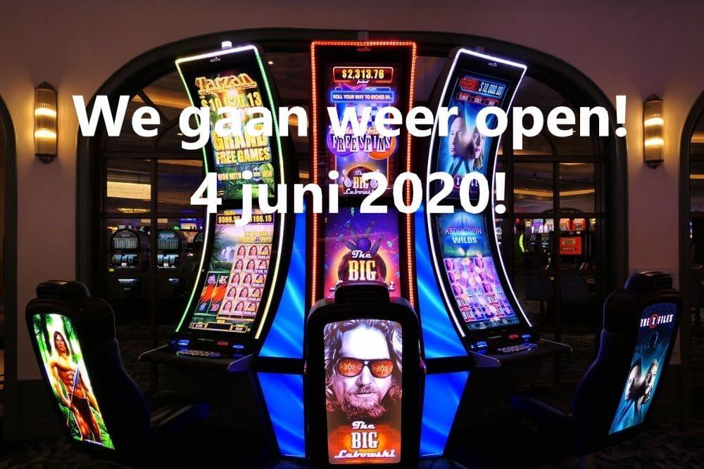 Casino's in Las Vegas gaan weer open!