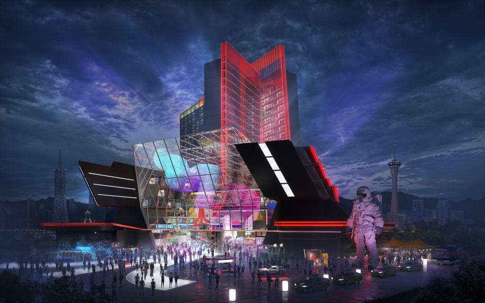 Atari Hotel in Las Vegas