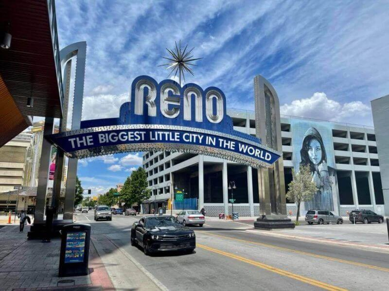Arch Reno, the Biggest Little City in the World