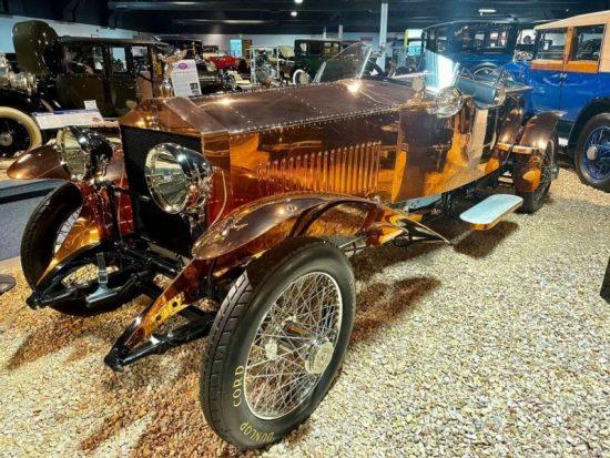 Rolls-Royce in het national automobile museum