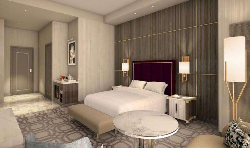 Superior Room Crockfords Las Vegas at Resort World Las Vegas,