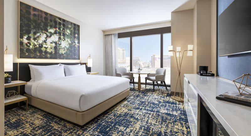 Deluxe Room Las Vegas Hilton at Resort World Las Vegas