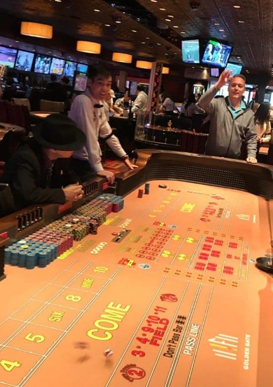 Craps4Fun in actie in Las Vegas