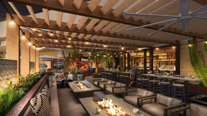 Foodhall Patio Durango Resort in Las Vegas