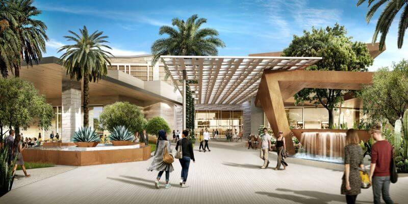 Outside Durango, nieuw hotel in Las Vegas wat in 2023 opgeleverd gaat worden.